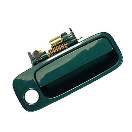 4AMCA Front Right Passenger Side Exterior Outside Door Handle For 97-01 Toyota Camry 6R1 Woodland Green Pearl 1997 1998 1999 2000 2001
