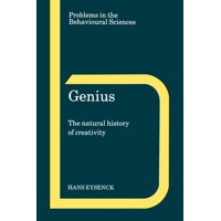 Problems in the Behavioural Sciences: Genius: The Natural History of Creativity (Paperback)