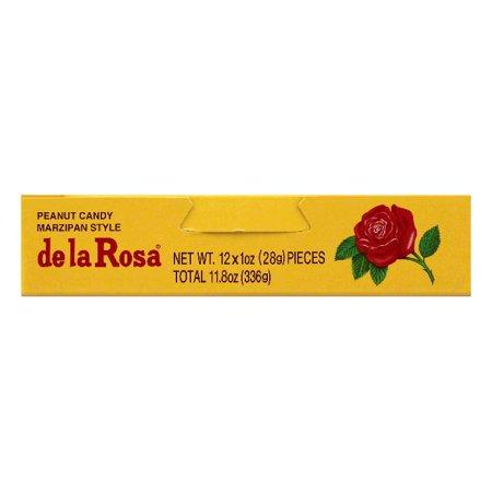 De La Rosa Marzipan - De La Rosa Marzipan Style Peanut Candy, 12 ea