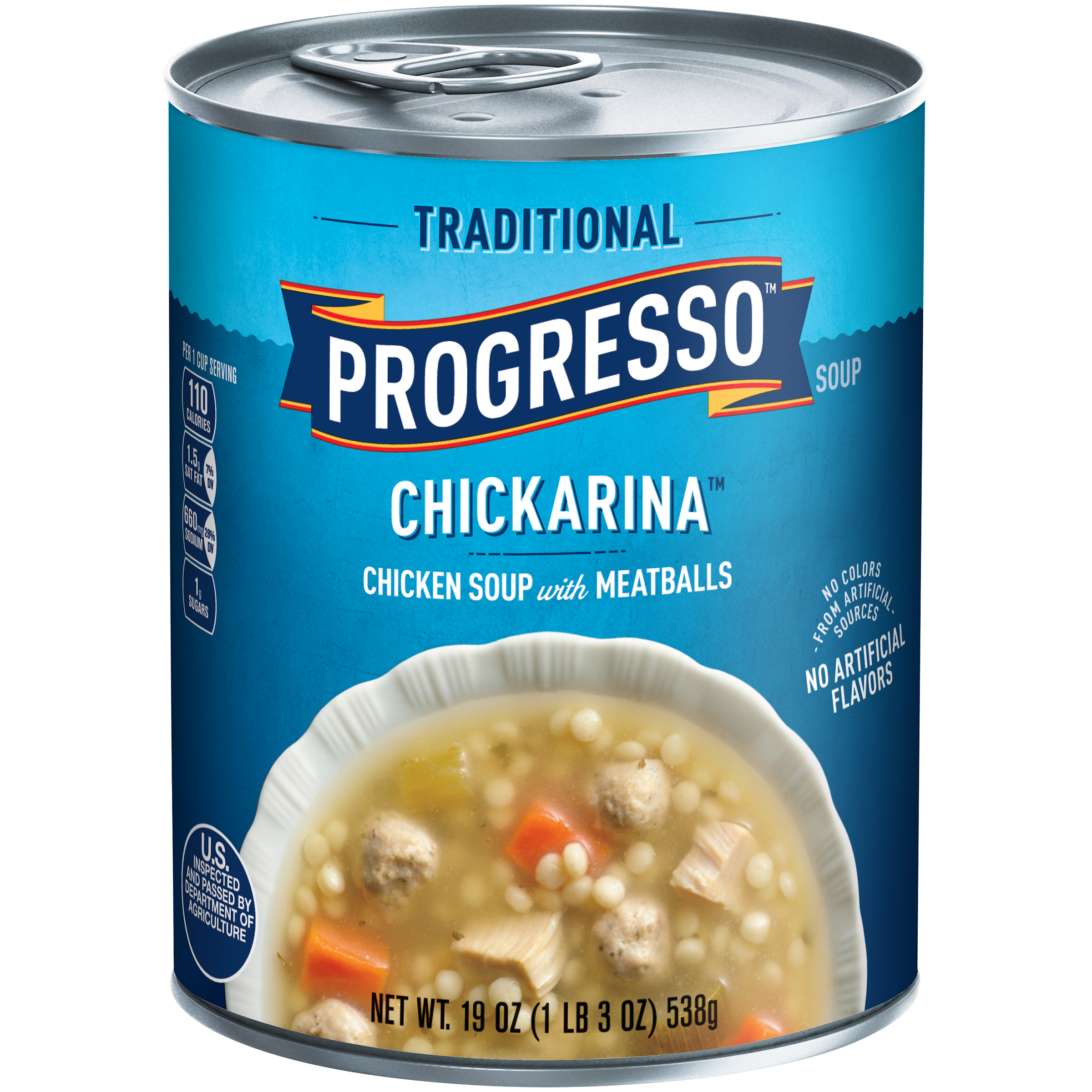 Progresso Traditional Chickarina Soup 19 oz. Can