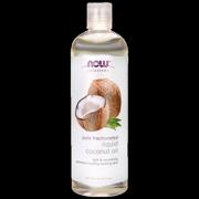 NOW Foods Pure Fractionated Liquid Coconut Oil 16 fl oz Liquid