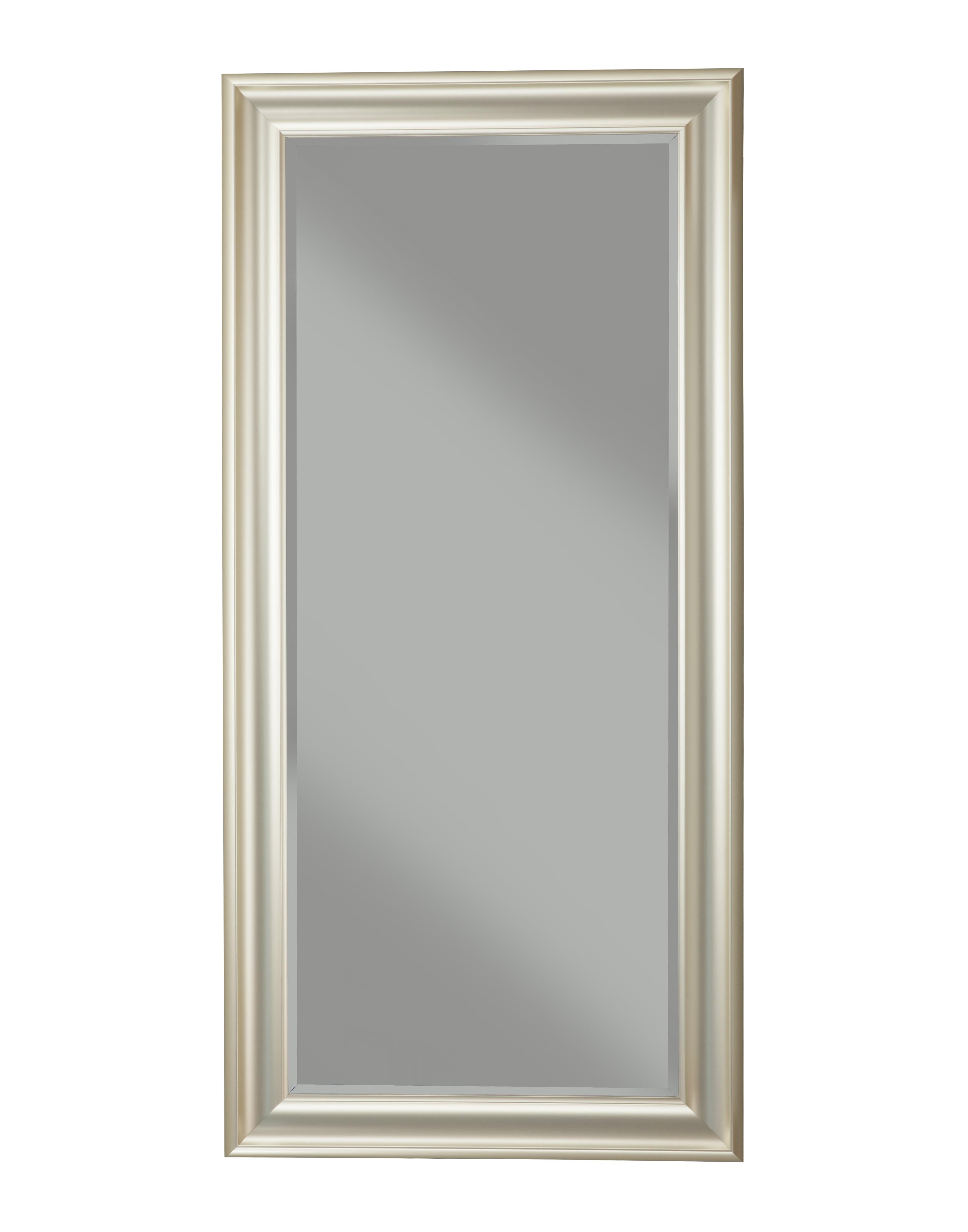 Brushed Bronze Full Length Leaner Mirror by Martin Svensson Home