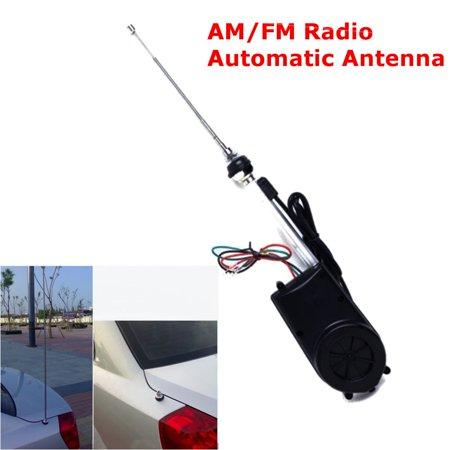 1997 Power Antenna Mast - AUDEW Auto Aerial Automatic Antenna Mast AM FM Radio Car Power Electric Fully Universal