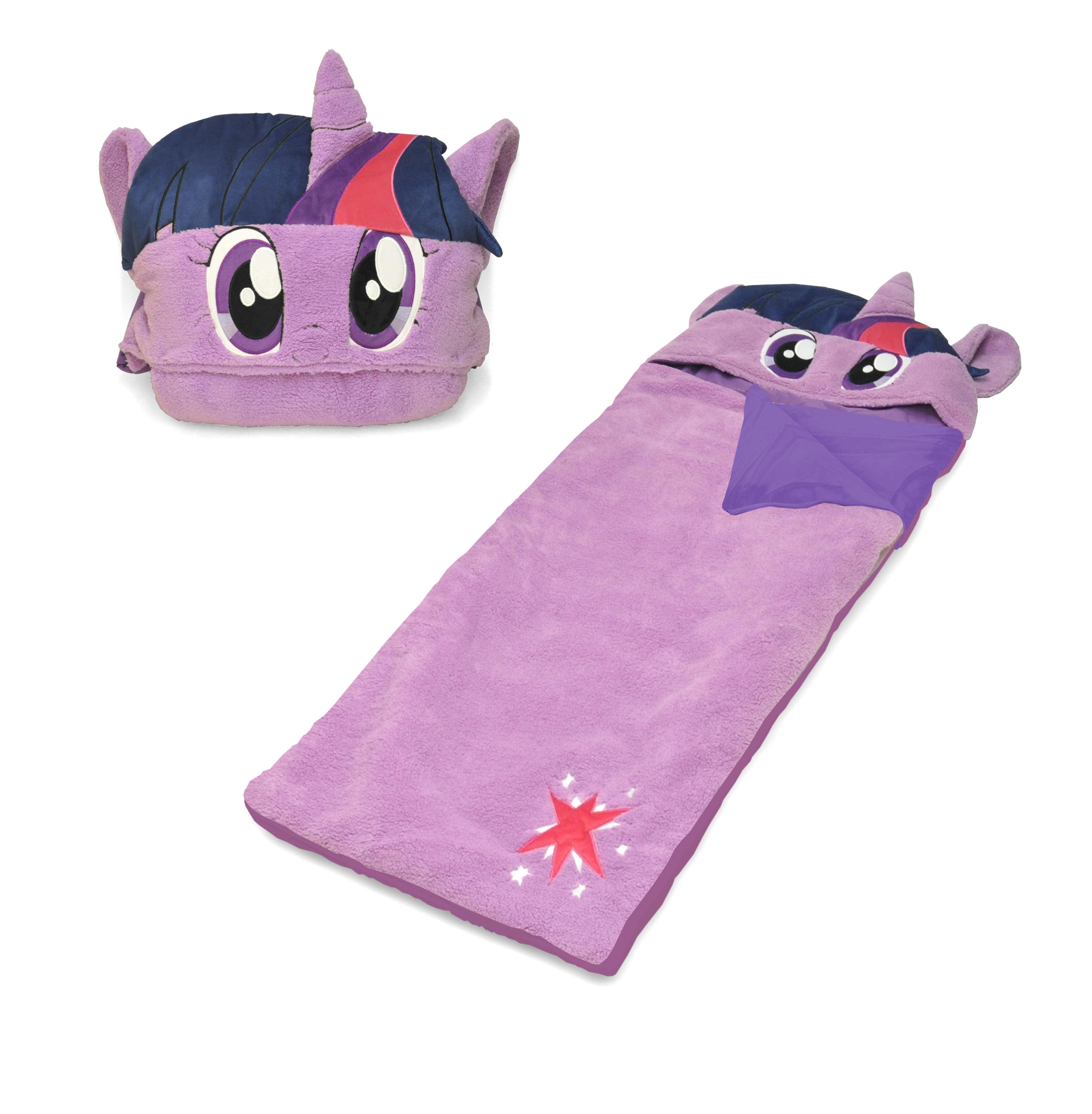 Hasbro My Little Pony Figural Hooded Sherpa Sleeping Bag