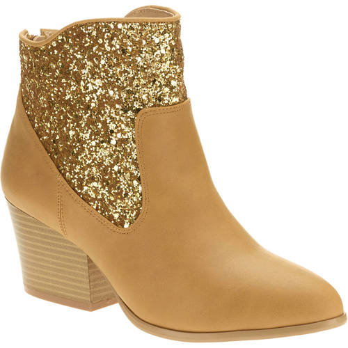 MoMo Women's Makena Sparkle Ankle Boot