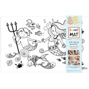 Funny Mat : Placemat / Mermaid Reusable & Washable