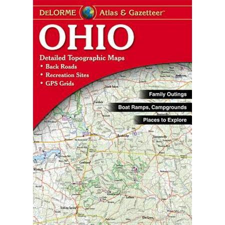 del Atlas Ohio - Paperback (Ogio Atlas)