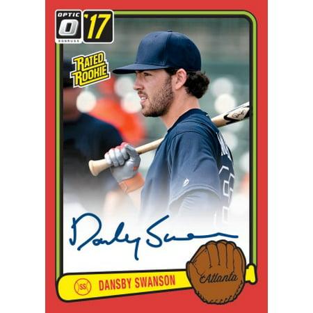 2017 Panini America Donruss Optic Baseball Hobby Box Item 89651 20 Packs Of 4 Cards
