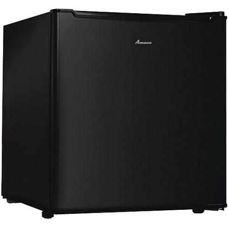 Image of Amana 1.7 cu ft Compact Single-Door Refrigerator, Black