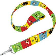 Angry Bird Pumpkin Decorating (Party Favors - Angry Birds - Lanyard -)