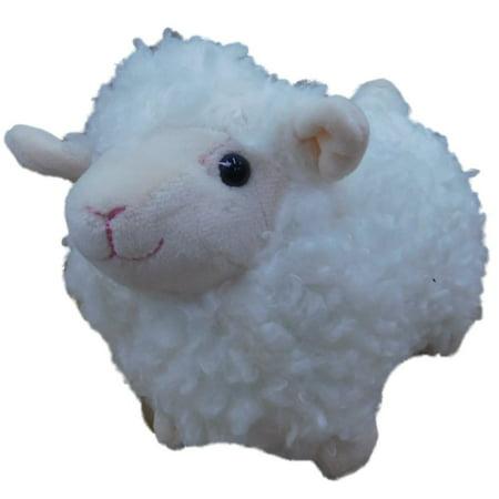 Hug Fun Plush Wooly White Lamb 7 Stuffed Animal Sheep Pal Walmart Com