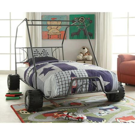 Xander Gunmetal Twin Go Kart (Rooms To Go Kids Twin)