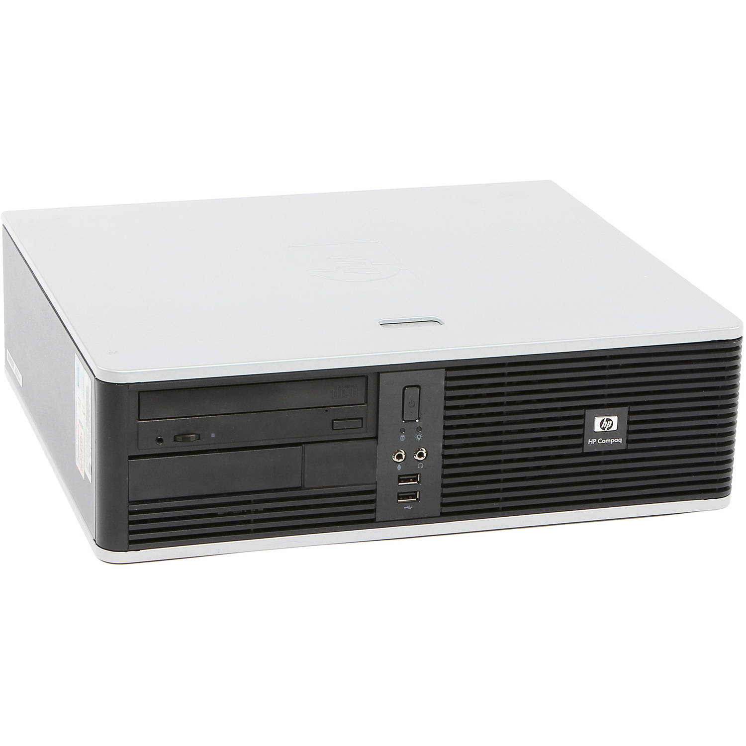 Refurbished HP DC5800 Small Form Factor Desktop PC with Intel Dual Core Processor, 2GB Memory, 80GB Hard Drive and Windows 7 Home Premium (Monitor Not Included)