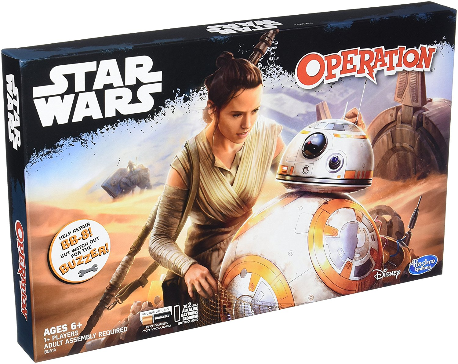 Operation Game: Star Wars Edition, New SquarePants Wars Exclusive Twilight Bust 75165... by