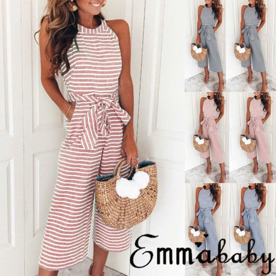 efa553b5edab Emmababy - Women Ladies Clubwear Summer Playsuit Bodycon Party Jumpsuit  Romper Trousers - Walmart.com
