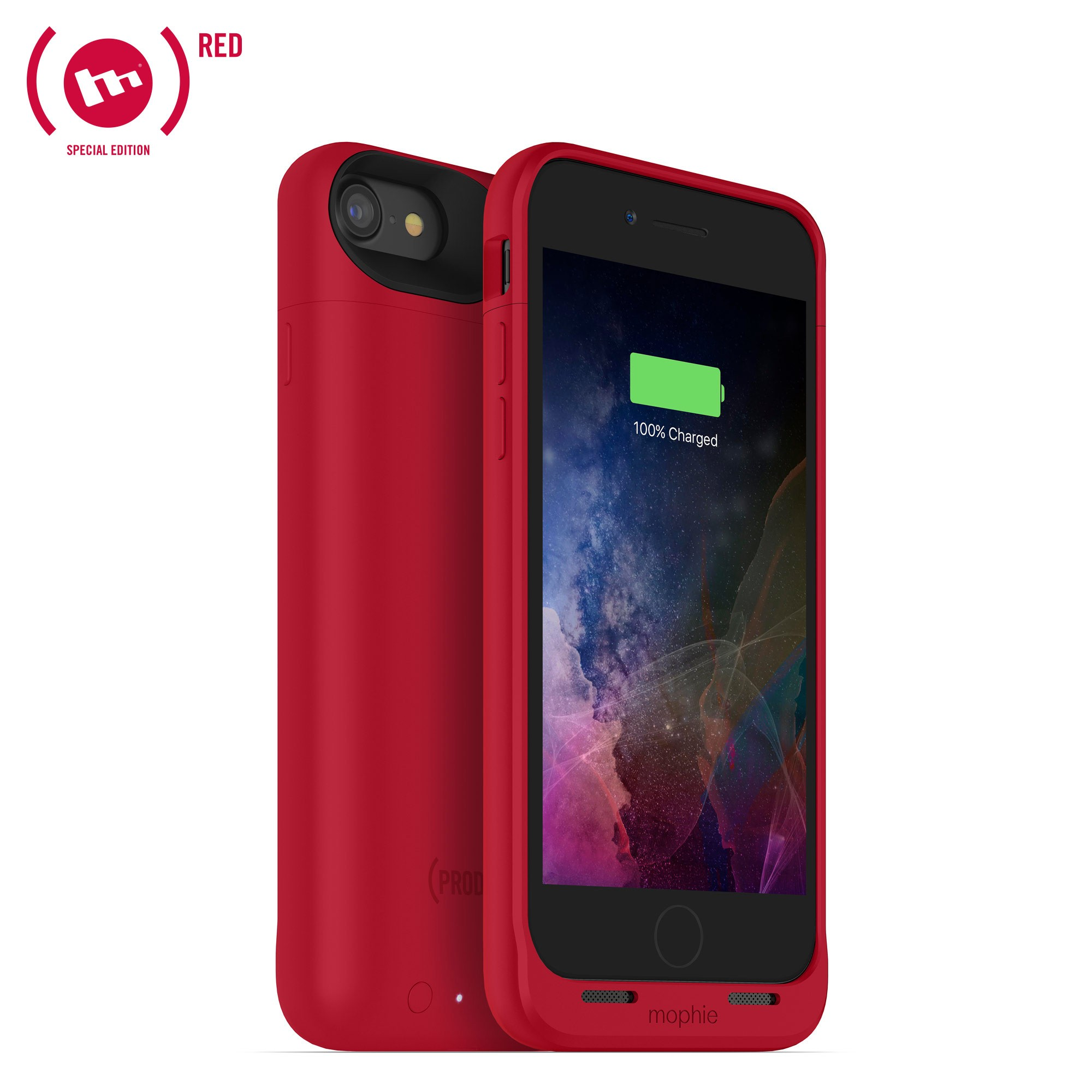 Mophie Juice Pack Air Battery Case for iPhone 7/8 2,520mAh, Red