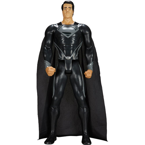 "Superman Man of Steel Giant 31"" Action Figure, Black"