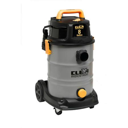 Vacmaster 8 gal Industrial Stainless Steel Wet/Dry Vacuum