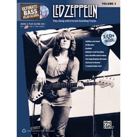 Ultimate Play-Along: Ultimate Bass Play-Along Led Zeppelin, Vol 2: Play Along with 8 Great-Sounding Tracks (Authentic Bass Tab), Book & 2 CDs (Other) 2 Play Along Cds