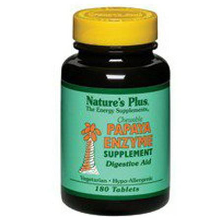 Enzymes Papaye Nature's Plus 360 croquables