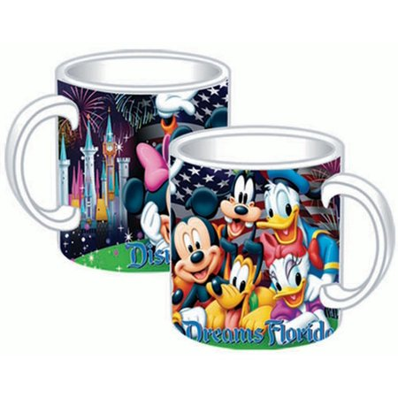 Disney Firework 14oz Mug (Florida Namedrop)