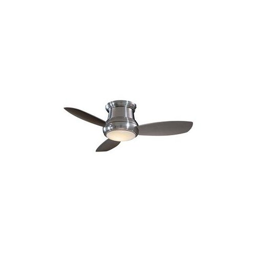 Minka Aire F518 44-in Concept II Flush Mount Ceiling Fan - Walmart.com