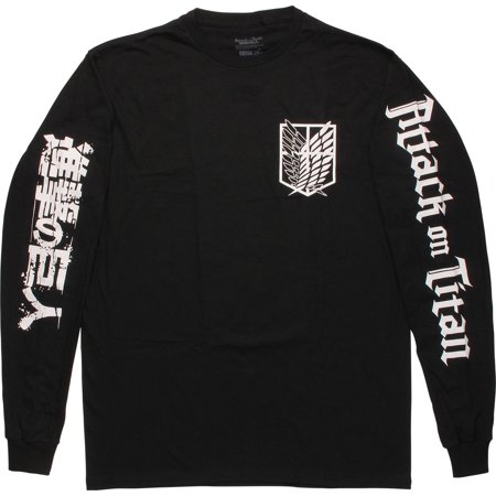 Attack on Titan Scout Shield Long Sleeve T-Shirt - Raven Cosplay Teen Titans