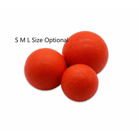 Zerone Pet Ball Toy, Dog Training Ball, Solid Rubber Ball Toy For Pet Dog Training Chew Play Bite Fetch, Large Medium Small Size ()