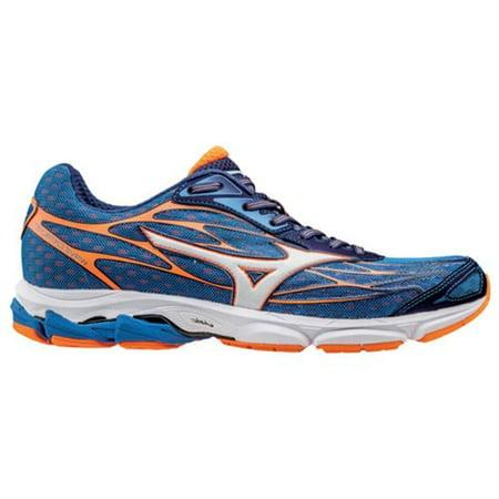Mizuno Mens Wave Catalyst Running Shoes Blue/Clownfish Size 8.5