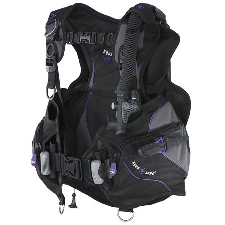 Weight System Scuba - Aqua Lung Soul Women's BC, Wrapture Harness System with Weight Release System Twilight Medium