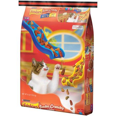 Purina Friskies Tender   Crunchy Combo Cat Food 16 Lb  Bag