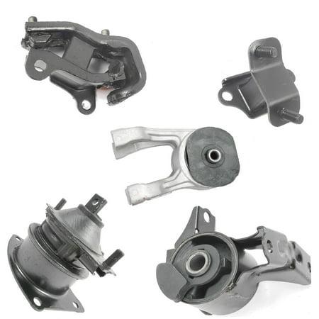 For 2005-2006 Honda Odyssey 3.5L LX / EX Engine Motor & Trans Mount Set 5PCS 50810-SHJ-A00, 50820-SHJ-A03, 50830-SDA-A02, A4526HY, A4553, A4555, A6582, A4559S