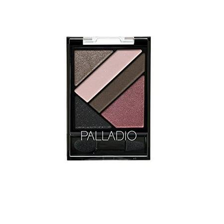 Palladio Silk FX Eyeshadow Palette, Burlesque, 0.09 Ounce (Palladio Silk)