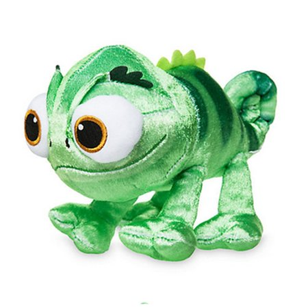 Official Disney Rapunzel The Series 18cm Pascal Soft Plush Toy, Cute 3D and embroidered character detail By Tangled