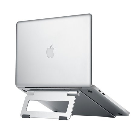 SIIG Aluminum Adjustable Multi-Angle Laptop Stand Tilt angle and height adjustable aluminum laptop stand places your laptop in the perfect ergonomic position.
