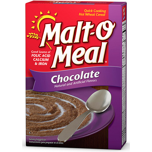 Malt-O-Meal: Hot Wheat Cereal Chocolate, 36 Oz
