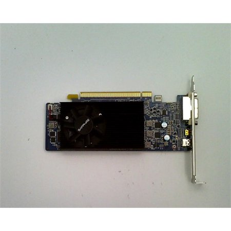 Refurbished Sapphire Radeon R7 250 1GB GDDR5 Micro HDMI/DVI-I/Mini DP Low  Profile PCI-Express Graphics Card 11215-06-20G