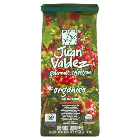 Juan Valdez Gourmet Selection Organico Ground Coffee, 10 Oz