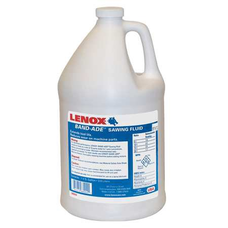 Fluted Bottle (Band-Ade Semi-Synthetic Sawing Fluid, 1 gal Bottle )
