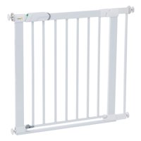 """Safety 1st Flat Step Pressure-Mounted Baby Gate, 25""""-31"""" Wide and 30"""" High, White"""
