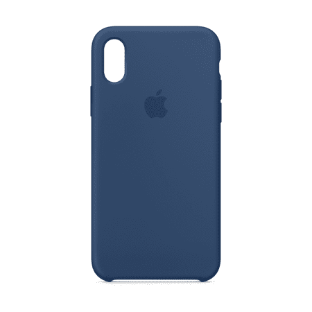 on sale 2d74f 082f1 Apple Silicone Case for iPhone X - Blue Cobalt