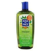Kiss My Face Whenever Shampoo, 11 Oz