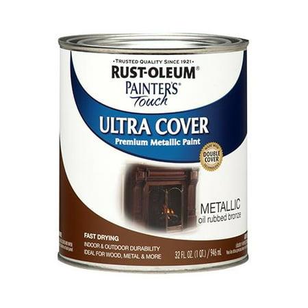 Rust-Oleum 254101 QT Bronze Metal or Metallic Oil Paint (Oil Paint For Metal)