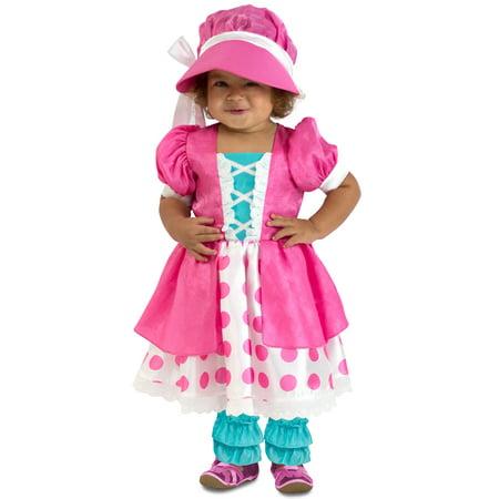 Polka Dot Bo Peep Infant/Toddler - Peeps Marshmallow Halloween