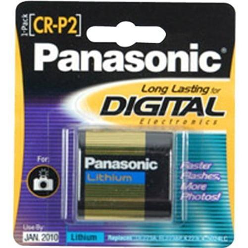 Panasonic CR-P2 Photo Lithium Battery Pack - 6V DC