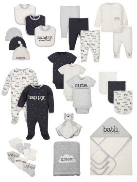 55bbf67bc3bd3 Product Image Baby Shower Layette Gift Set, 31pc (Baby Boys or Baby Girls,  Unisex)
