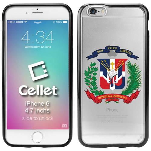 Cellet Dominican Republic Flag TPU/PC Proguard Case for Apple iPhone 6