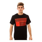 Black Scale Mens The Barcode Graphic T-Shirt