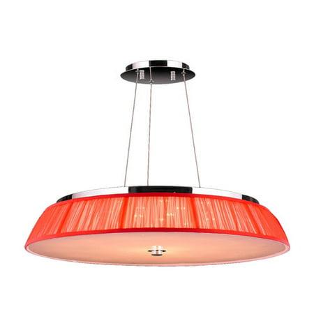 Worldwide Lighting Alice 21-Light Drum Pendant
