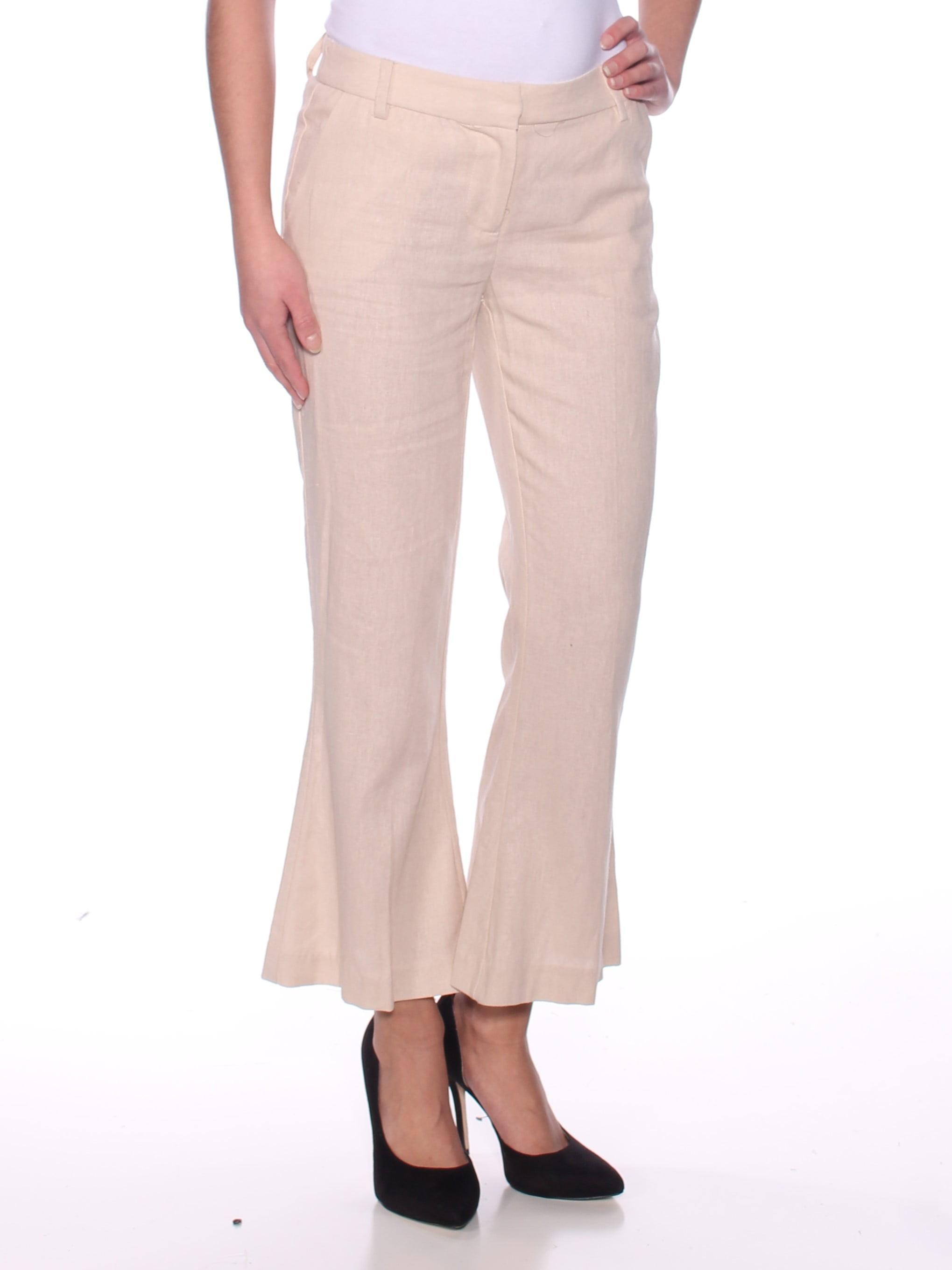 XOXO Womens Beige Flare Pants Juniors  Size: 3